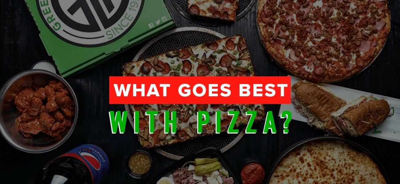 What goes best with pizza?